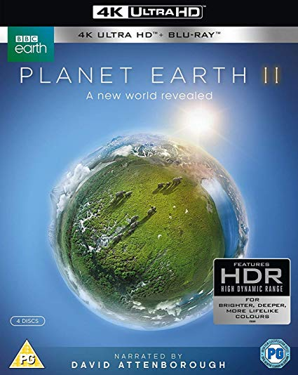 Blue Planet II 4k UHD & Blu-Ray