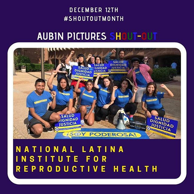 """""""National Latina Institute for Reproductive Health is the only national reproductive justice organization dedicated to advancing health, dignity, and justice for the 26 million Latinas, their families, and communities in the United States. """" #reproductivehealth ... Aubin Pictures' mission is to develop, produce and distribute cultural content that leads to social awareness and transformation. With 🗣 #ShoutOutMonth🗣we hope to inspire dialogue and foster community building around the social issues that matter most to us."""