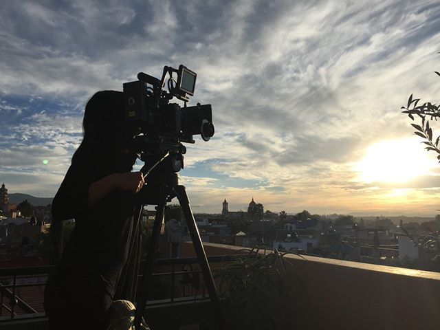 """This #ThrowbackThursday, here's a look back at a beautiful sunset we found while making #Chavela (2017)! """"Rayando el sol/Me despedí…"""" #sunset #mexico #documentary #film #womeninfilm #instafilm #behindthescenes #indiefilm #ChavelaVargas #Frida #photography #working #tbt #sky  #director #media #movie #filmproduction #travel #supportindiefilm #nature #instaphoto #making #cinematography #storytelling #2017"""