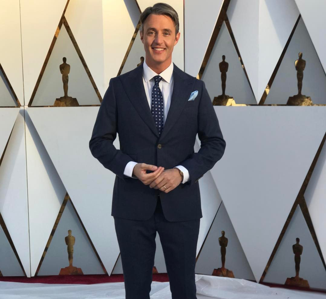 I found out what it takes to work the Academy Awards red carpet with my colleague Ben Mulroney, eTalk host and Your Morning co-host.  We discussed the red carpet behind-the-scenes as well as what we hope to see during the awards come Oscar night.  Follow Ben on  Twitter and tune into  eTalk 's red carpet coverage on Sunday, March 4th on CTV.  Follow Radheyan Simonpillai on  Twitter and right here at www.justsayrad.com