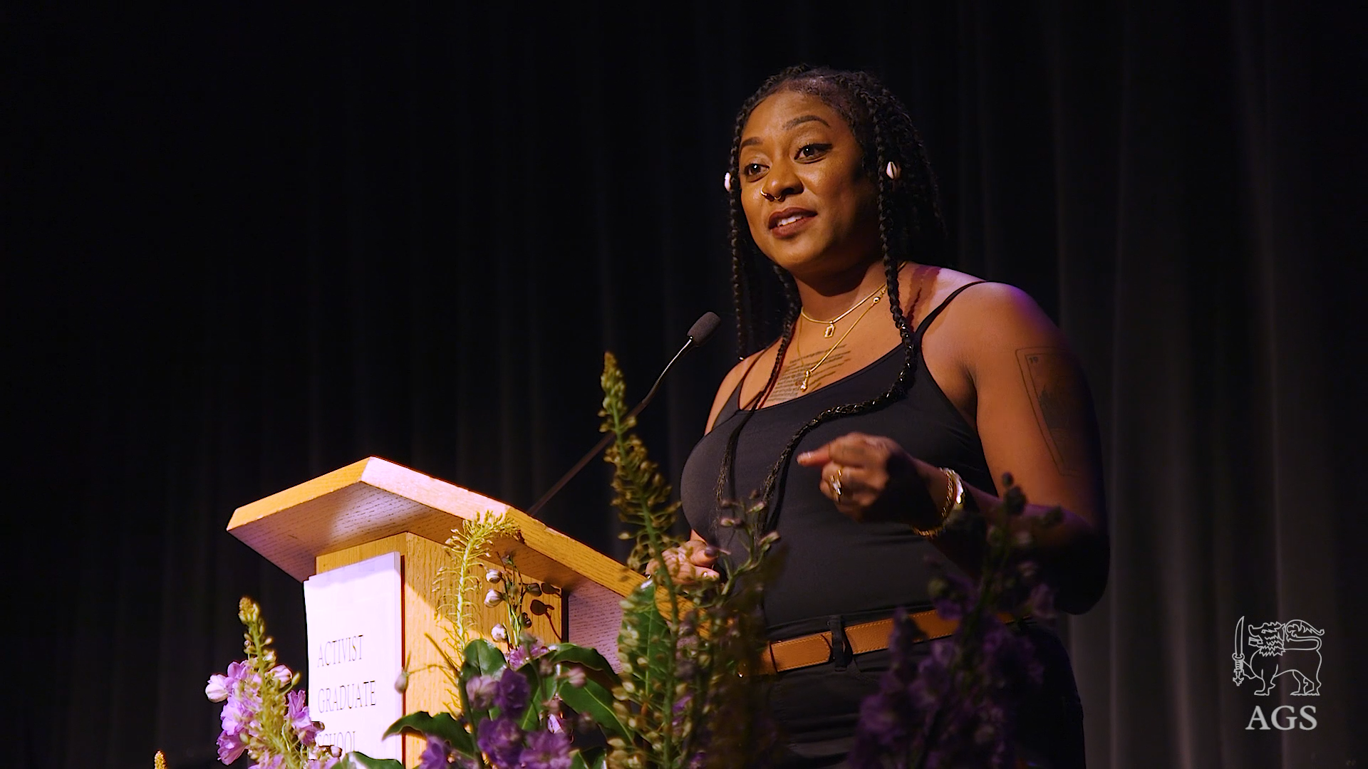 Alicia Garza, co-creator of Black Lives Matter