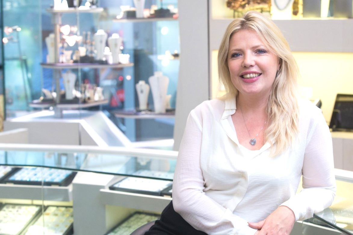 """- """" We are the UK's only organisation that specifically supports the advancement of women and women's issues throughout the jewellery sector, through the provision of networking and positive promotion."""