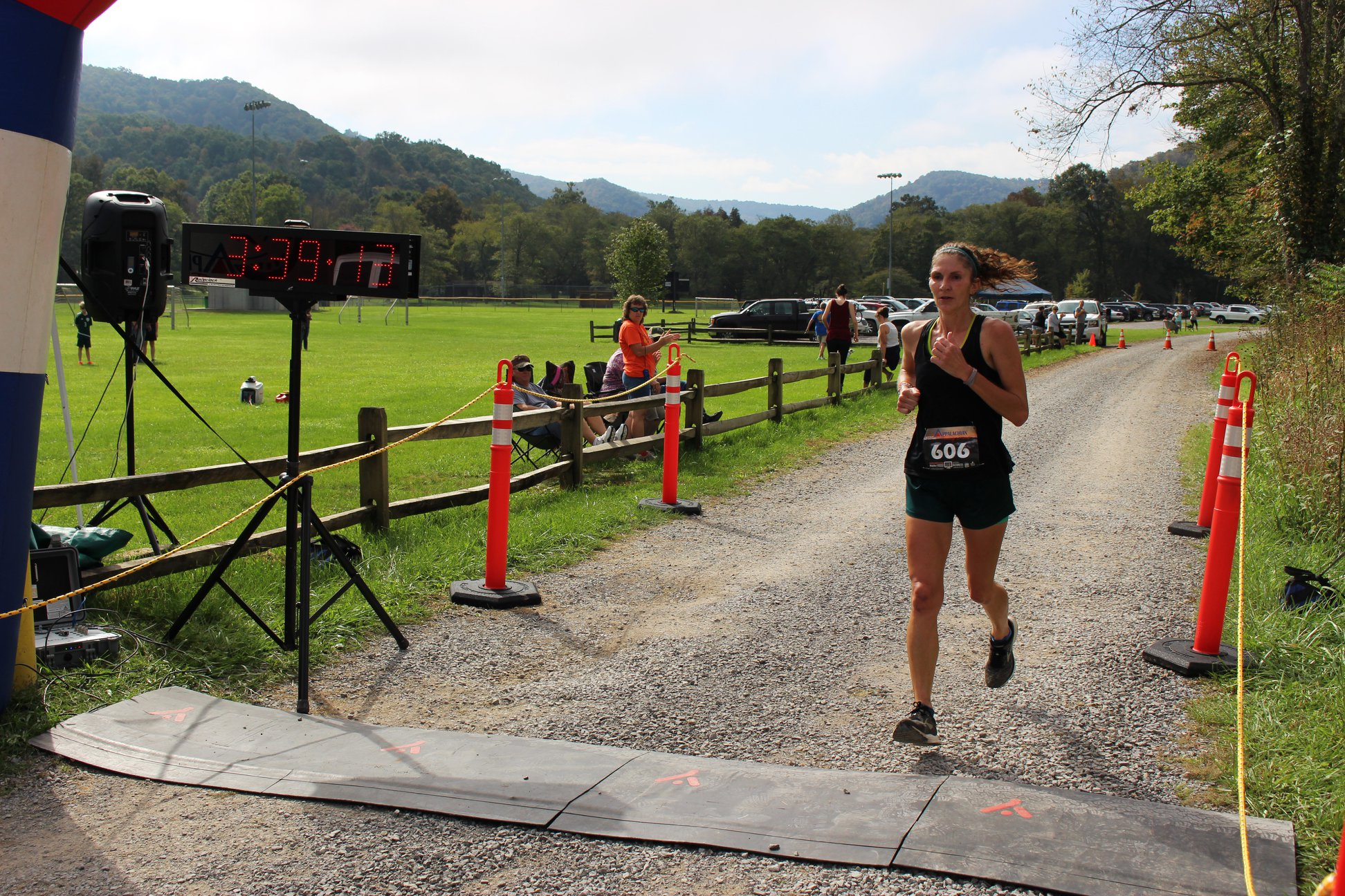 First Place Overall Female - Shannon Shrewsberry - Women's Course Record Holder: 3:39