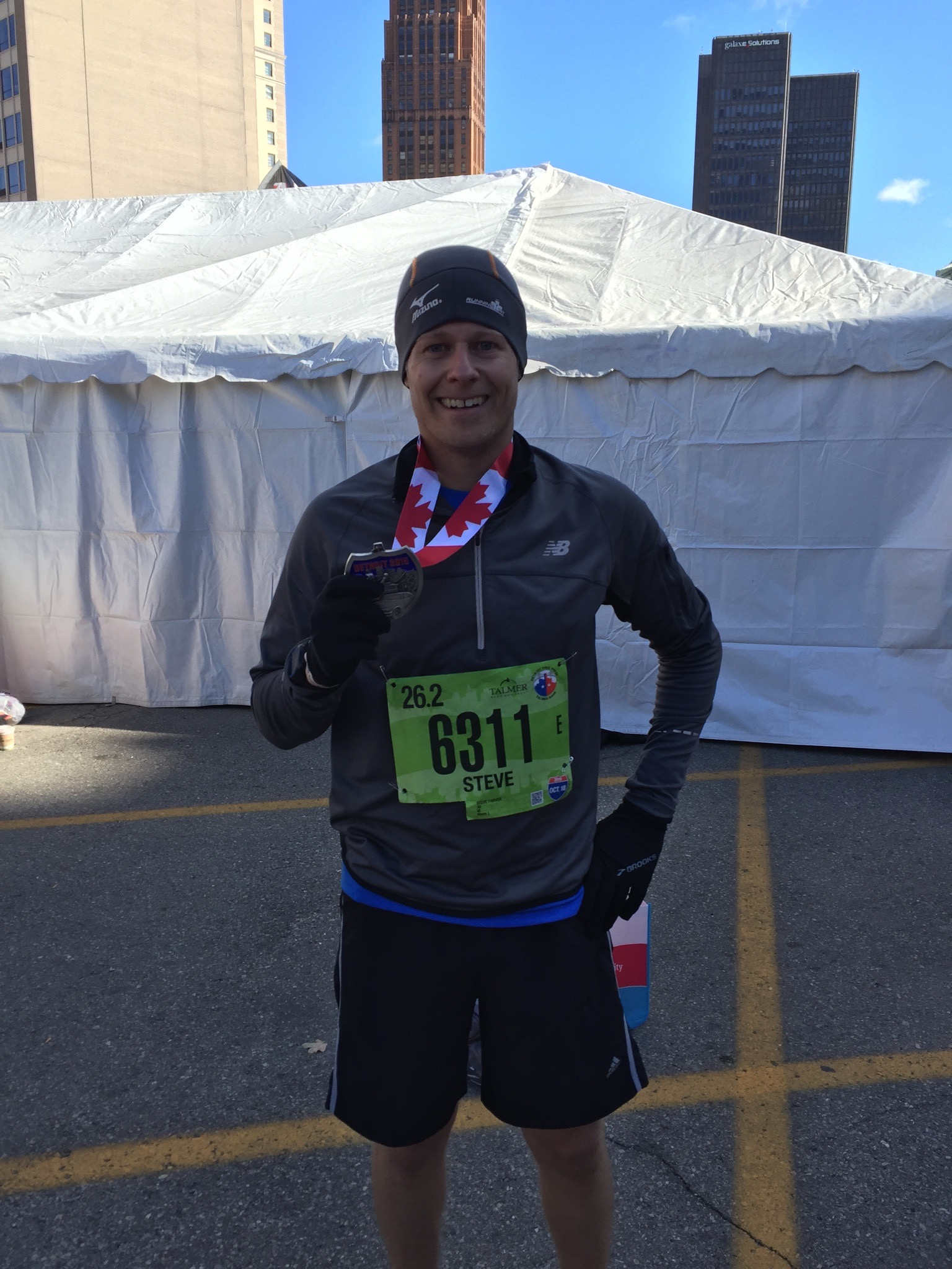 2015 Detroit Marathon