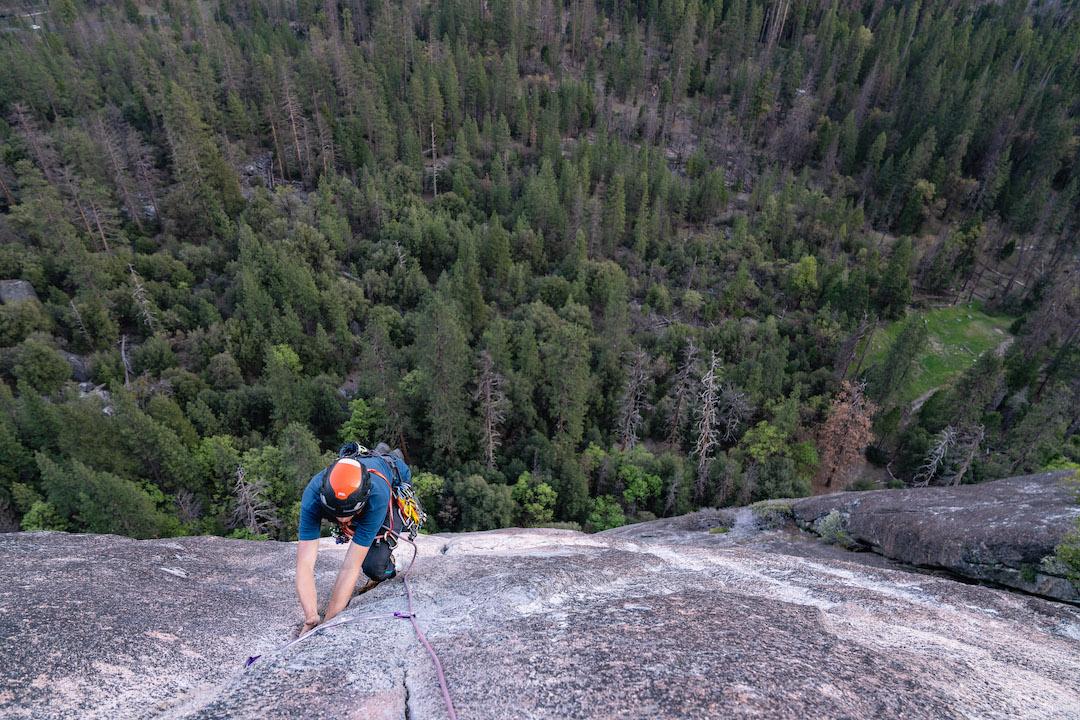 Climbing in Yosemite National Park
