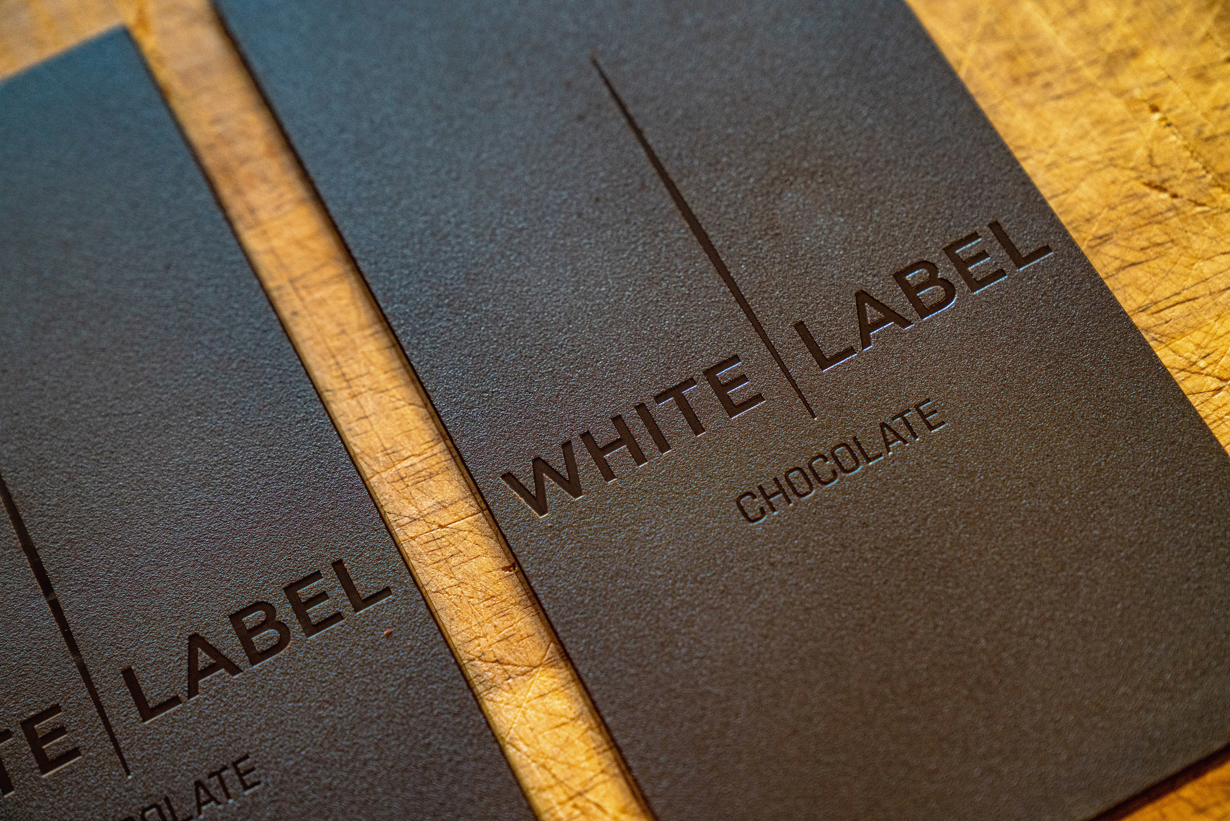 White Lable Chocolate by Dalton Johnson Media
