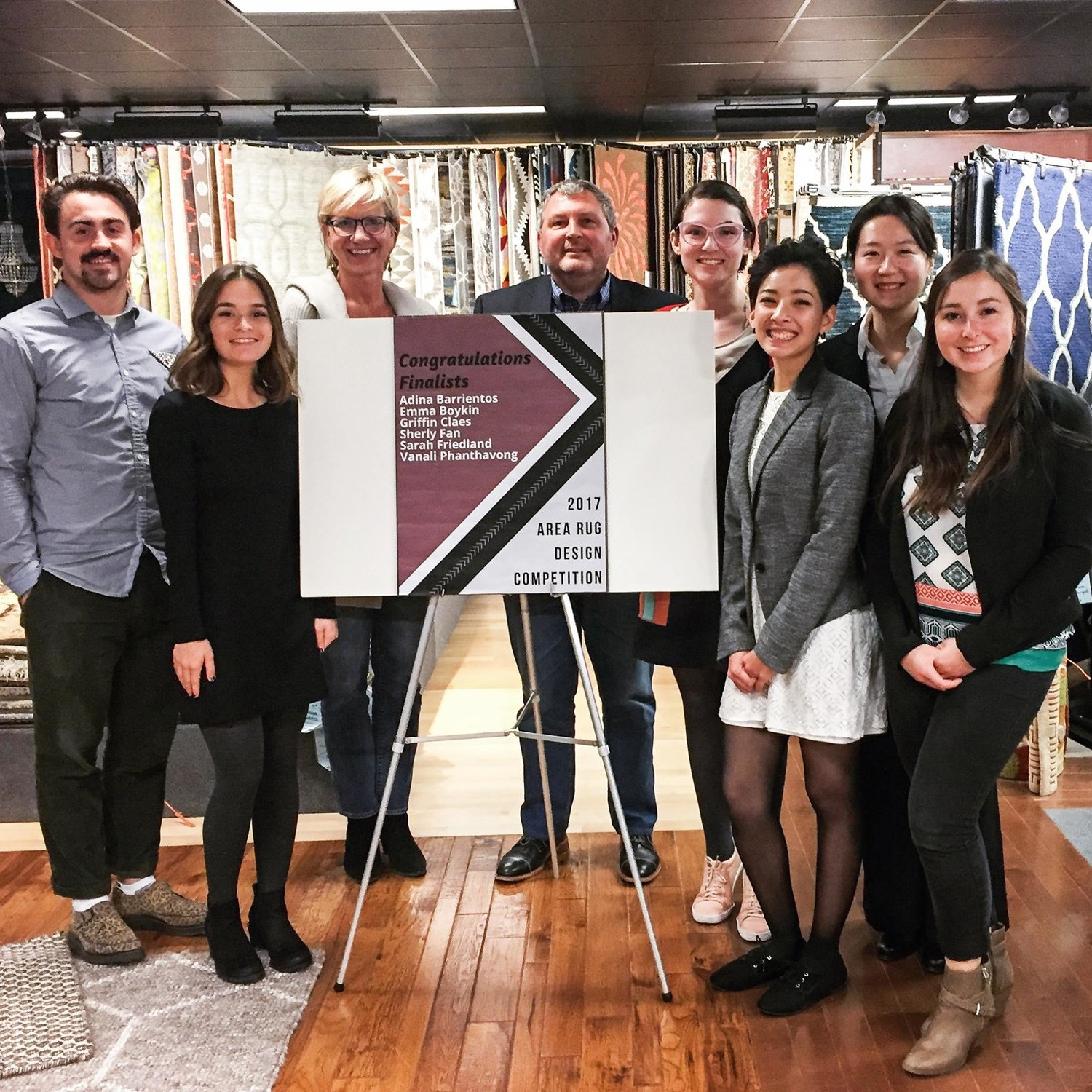 2017 Sergenian's Rug Design Competition reception -