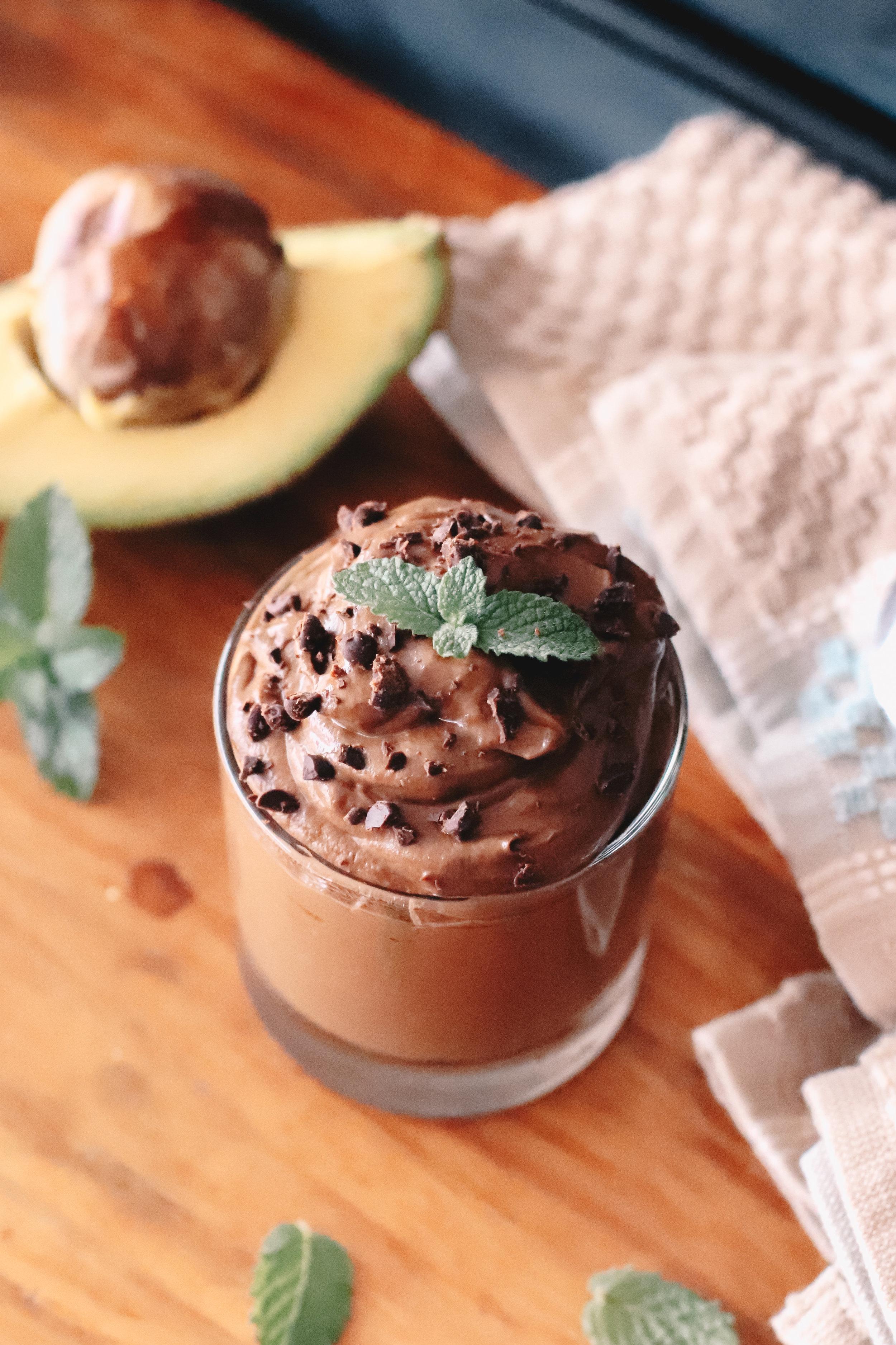Mousse de chocolate sin lácteos - Por: Karla Alverio / Veggie JevaColaboración especial para Poliniza