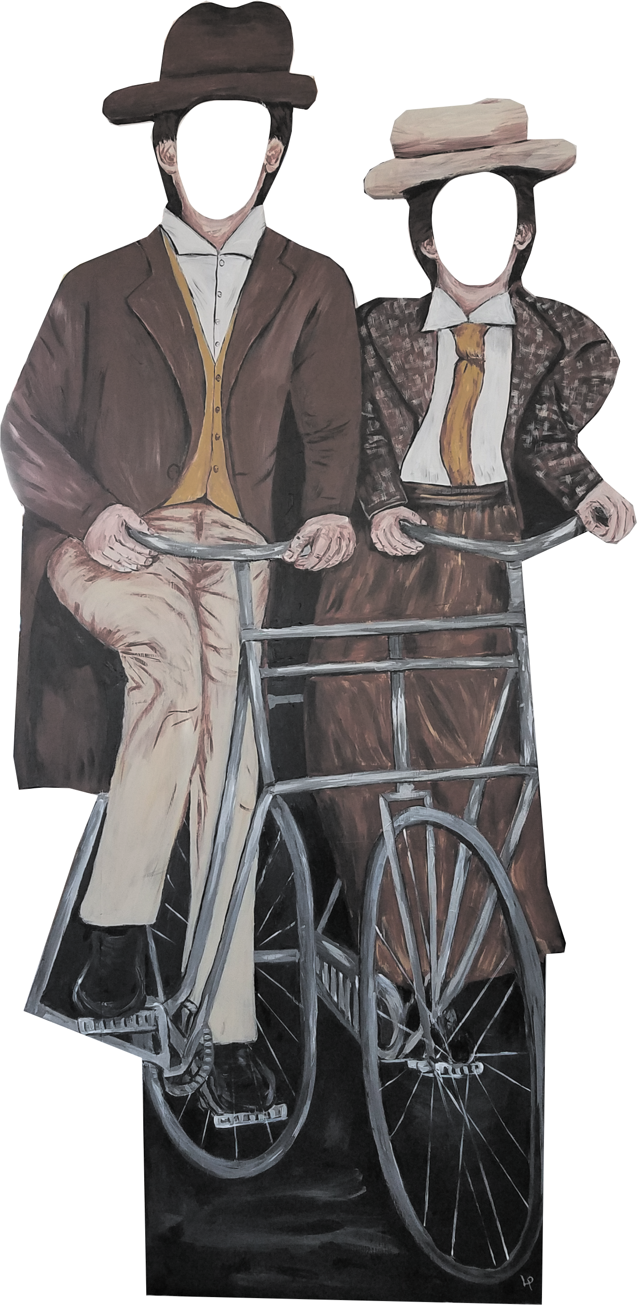 1896 Bicycle built for two
