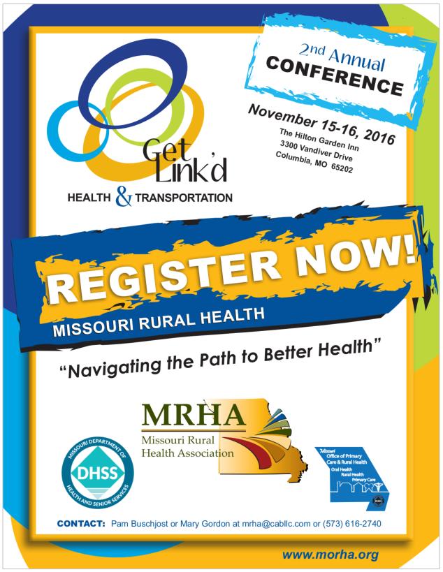 Rural Health & Transportation Get Link'd Conference