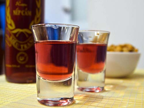 Vietnamese's Purple Rice Wine
