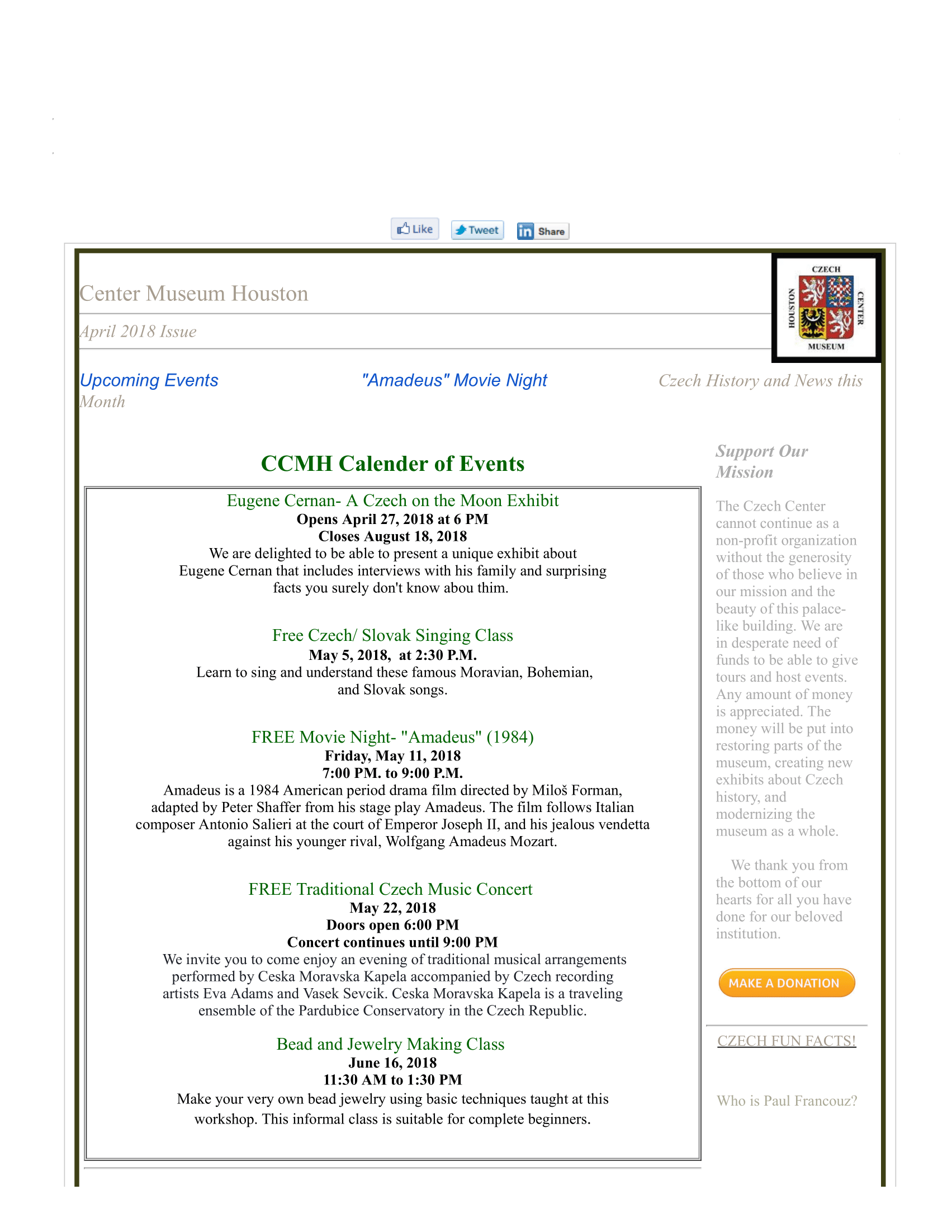 Czech Center Museum Houston Mail - April 2018 CCMH Newsletter-1.png