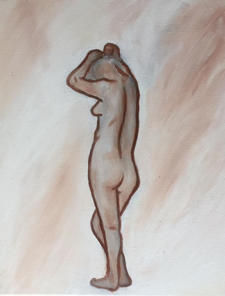 Gesture - Oil on Canvas