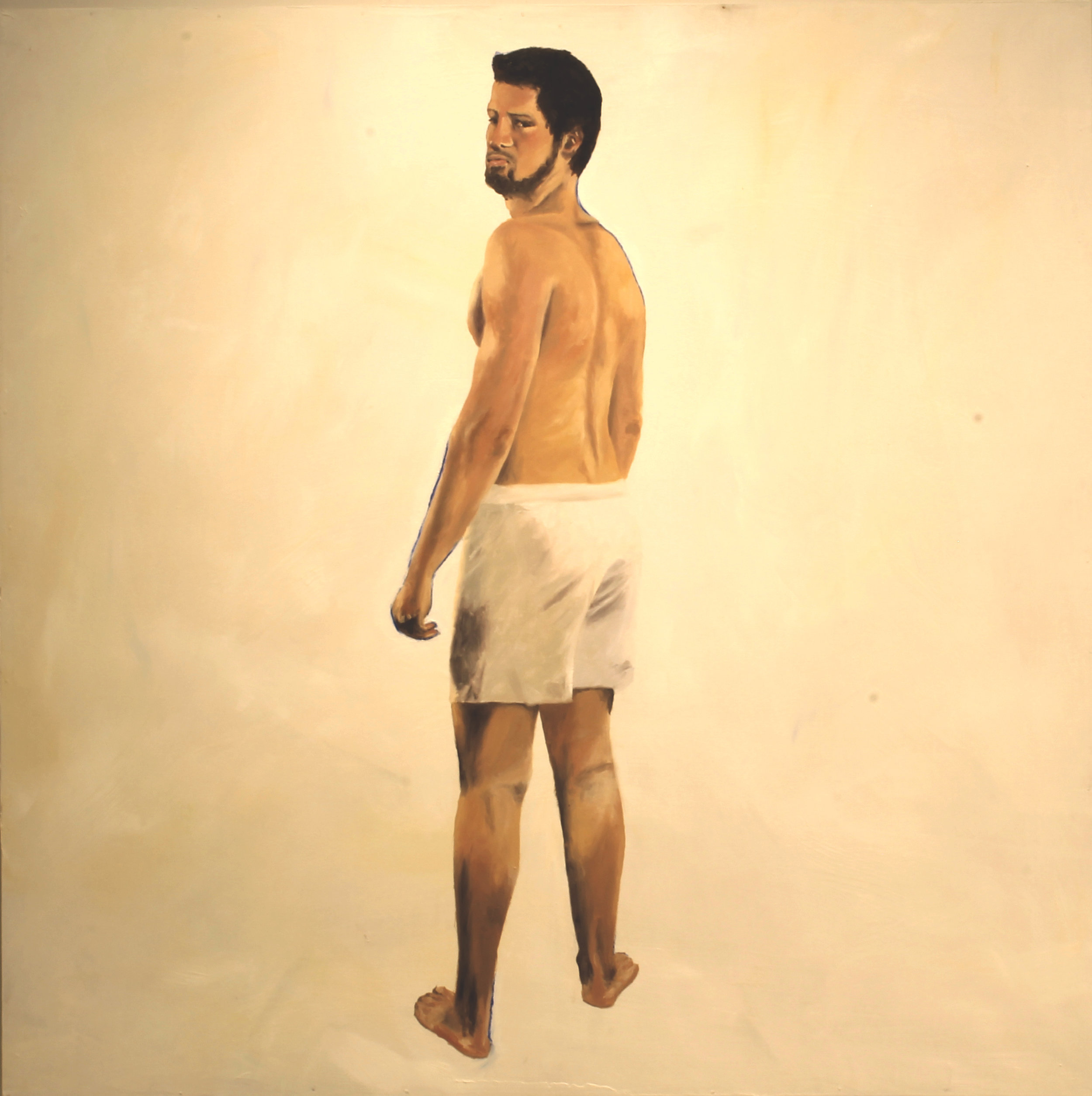 Who I Have To Be - 48 X 48 oil on panel