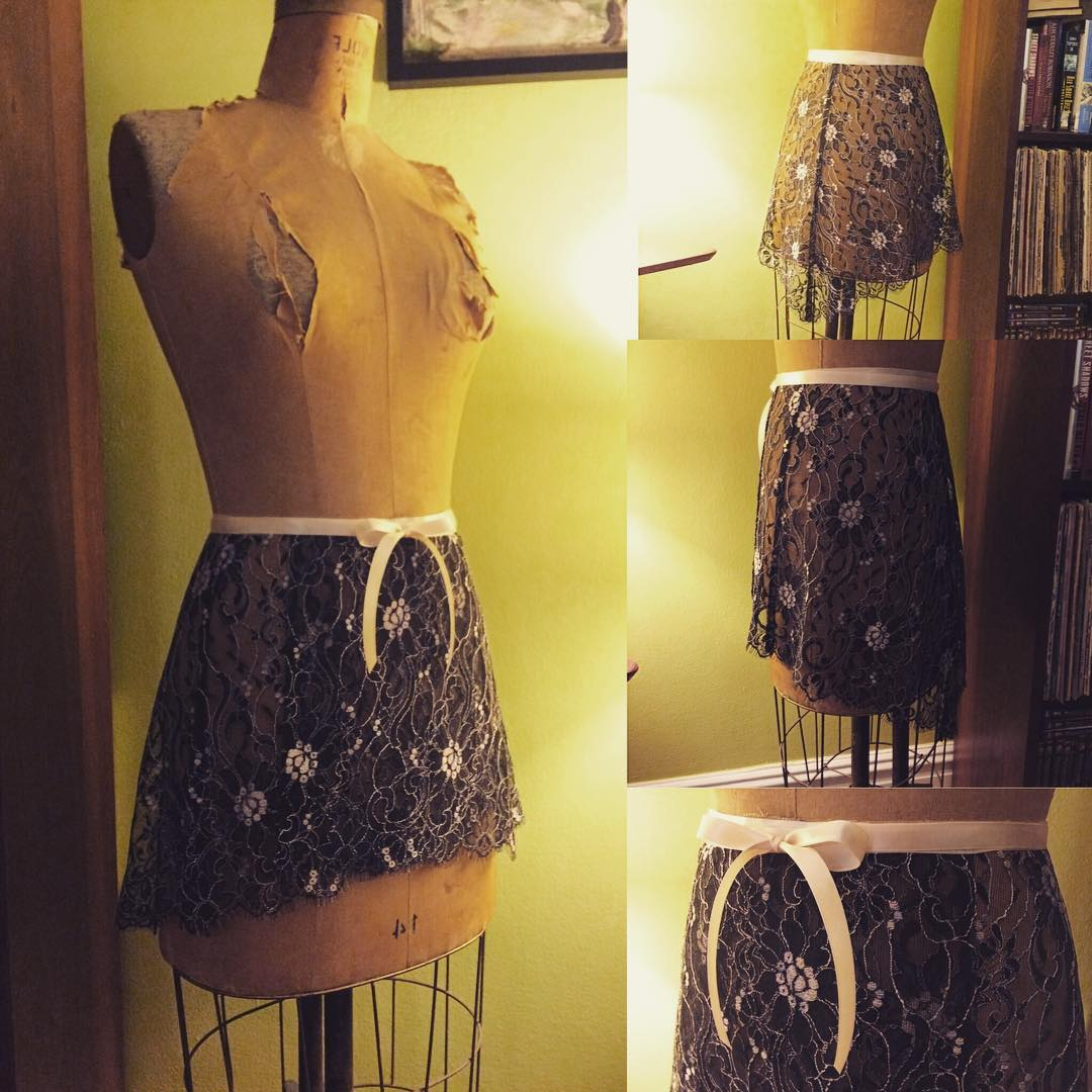 Aurora Lace Skirt