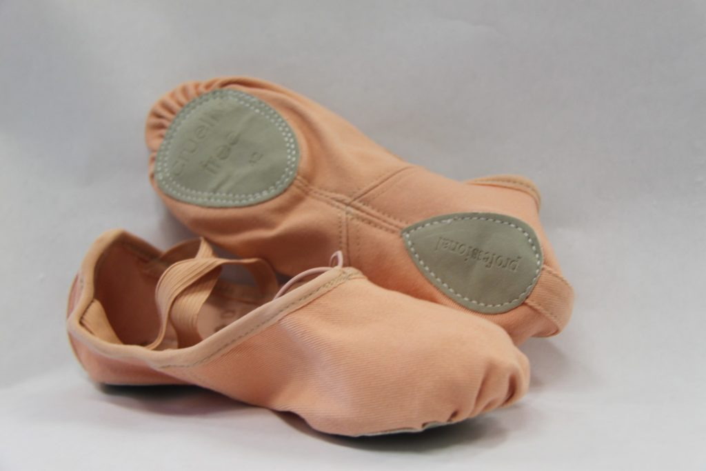 Cynthia King's Stretch-Canvas Vegan Ballet Slippers Make Your Feet Look Amazing