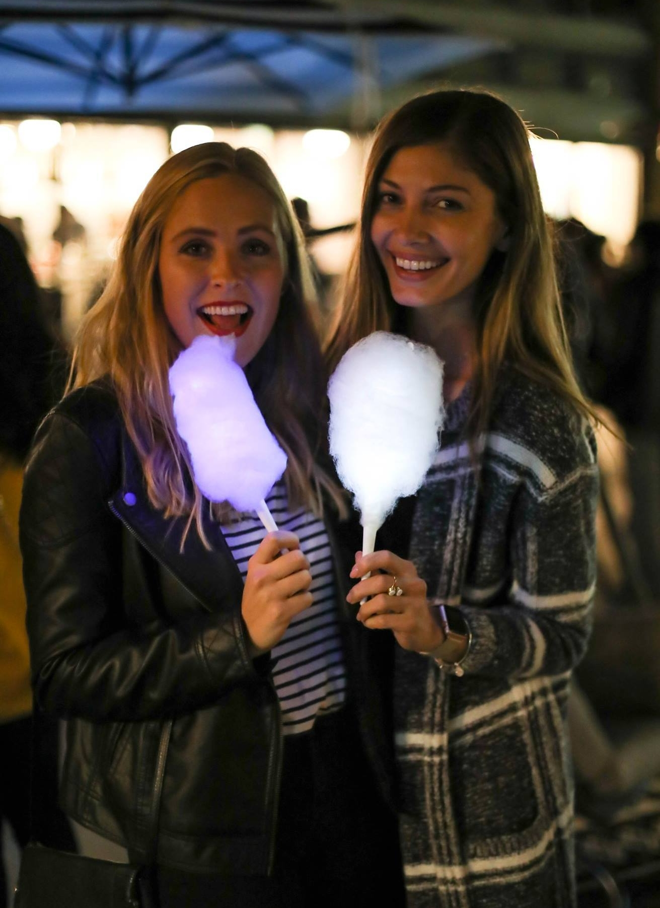 Guests enjoyed glowing cotton candy in three unique flavors.