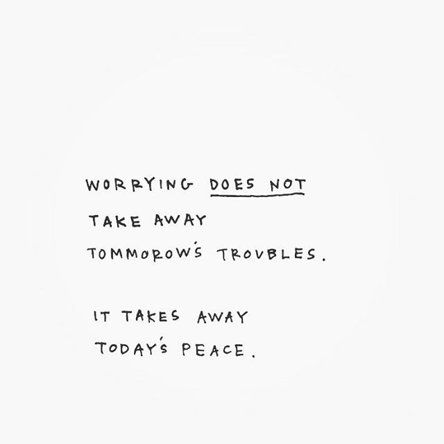 Worrying is not living in your present moment. . #worry #worrying #peace #presentmoment #tuesday #tuesdaythoughts #motivation #beautifullyanchored #jessicaoconnorgr #grief #griefrecovery #recover #heal #mend #past #present #future #loss #change #stayathomemom #workathomemom #momboss #toddlermom