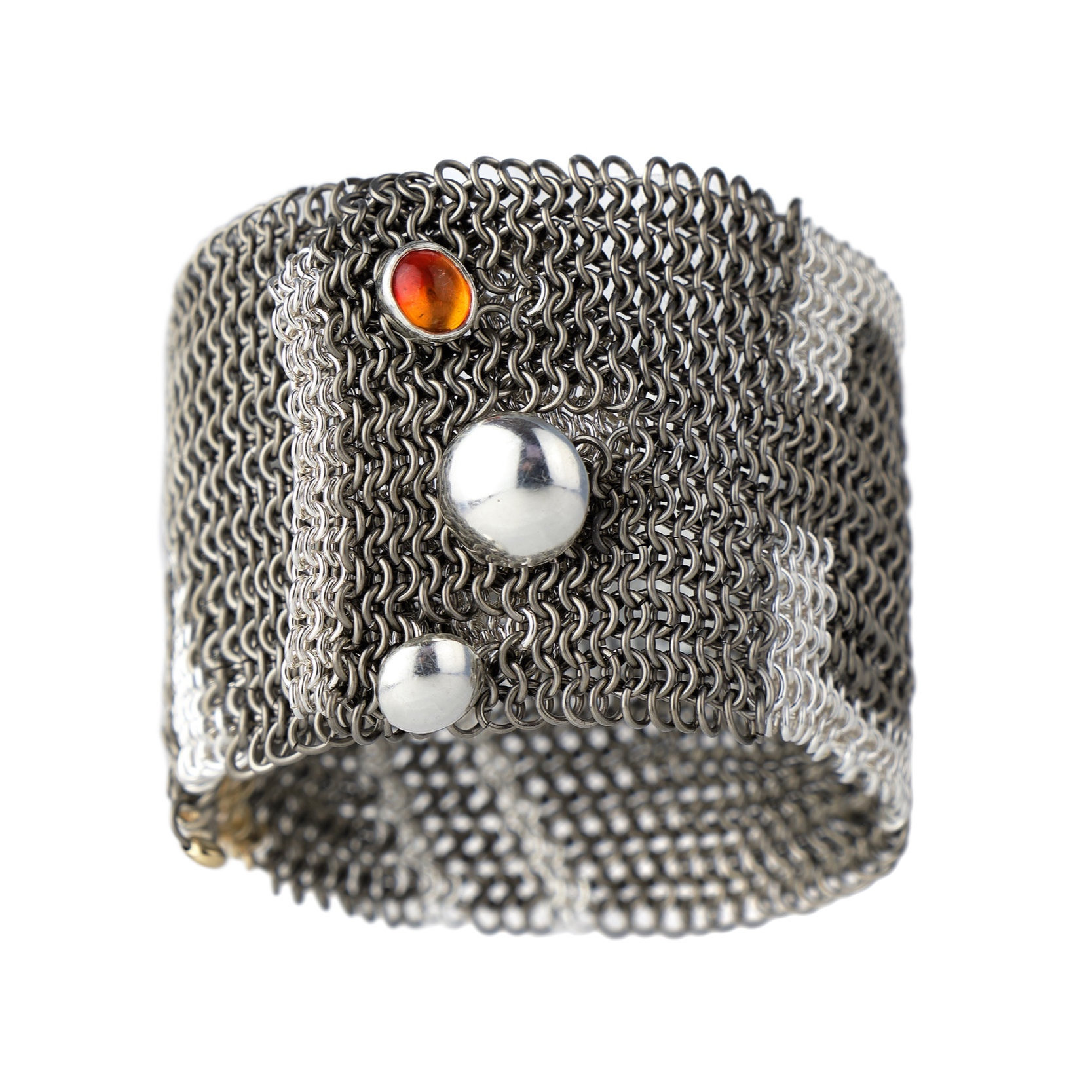 Shop the chainmail collection - Handmade Pattern Chainmail in Titanium, Silver & Gold