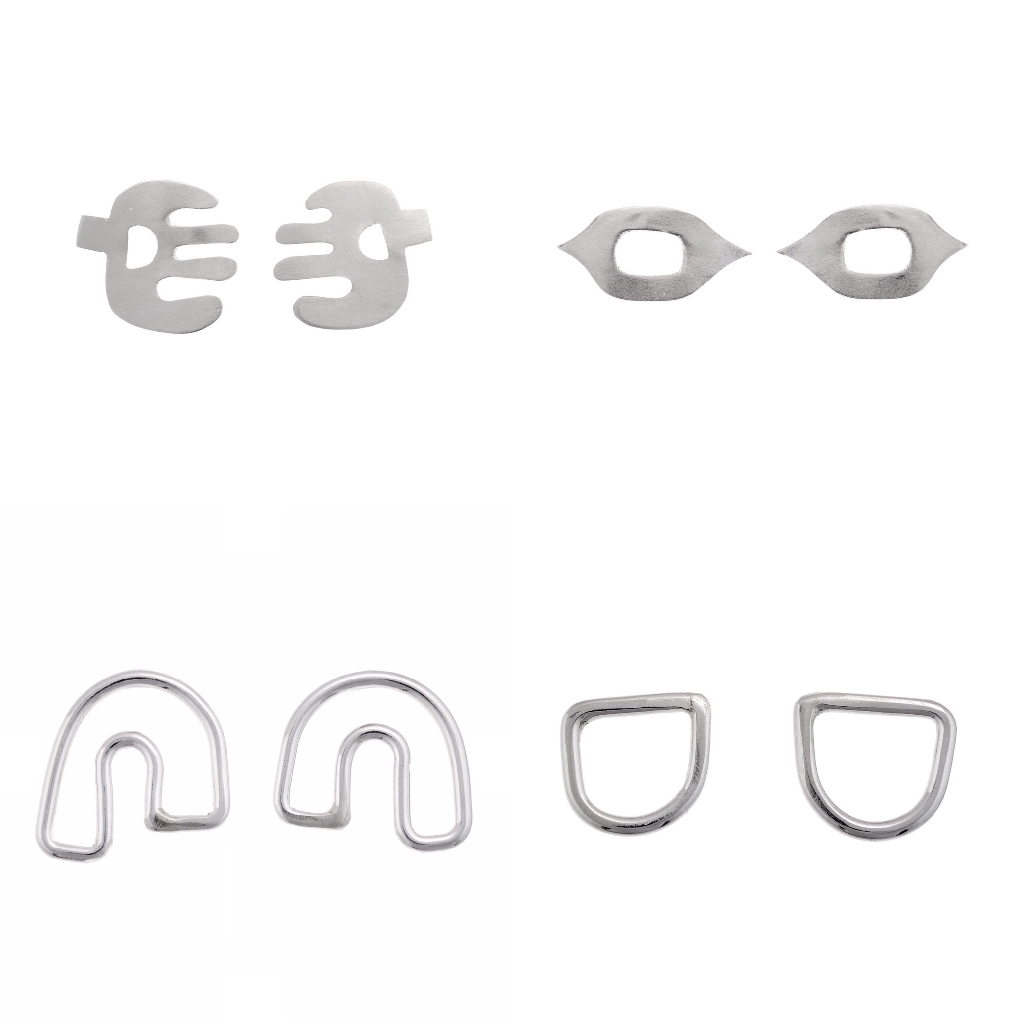 Shop The Mask Collection - Eco Silver Handmade Jewellery inspired by First Nations carved and painted masks.