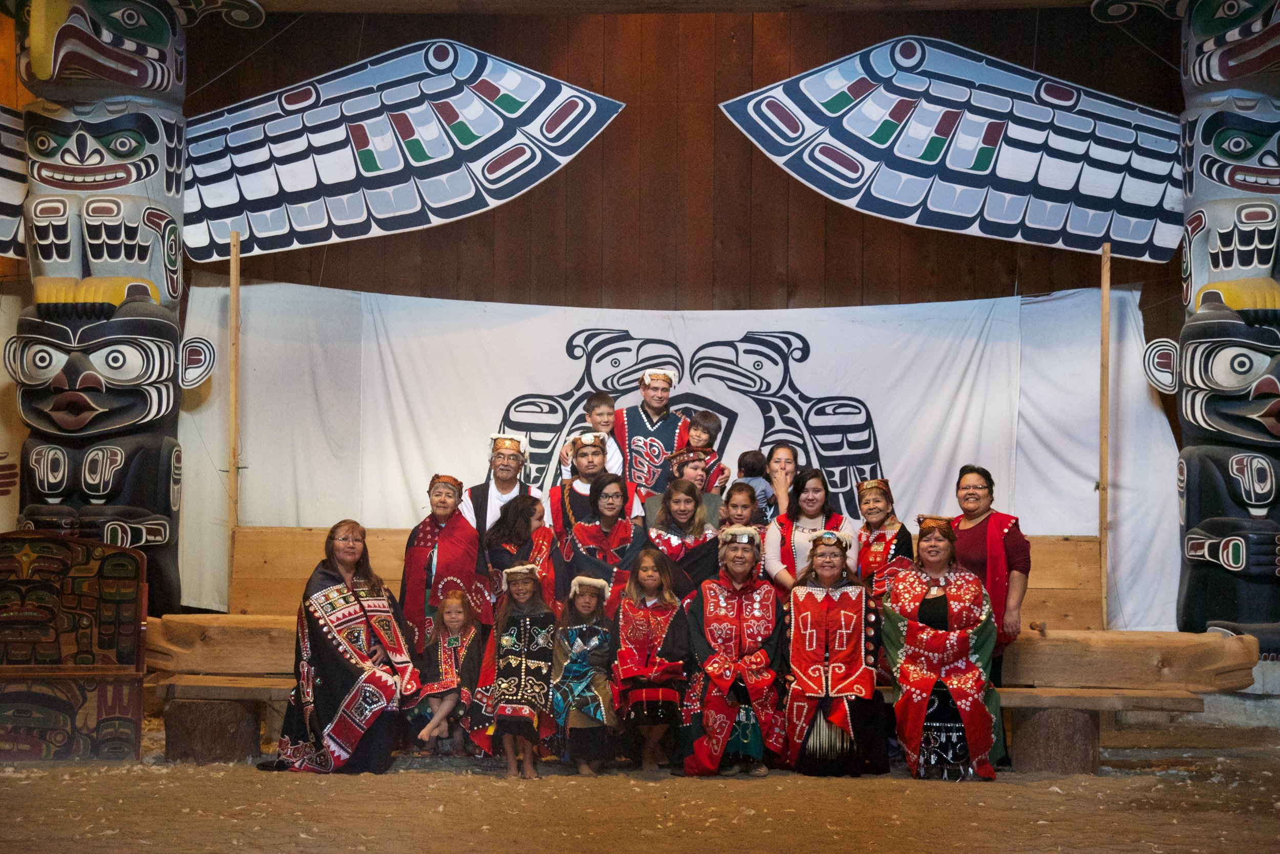 Namgis Tribe - Alert Bay Island, B.C Canada 2017