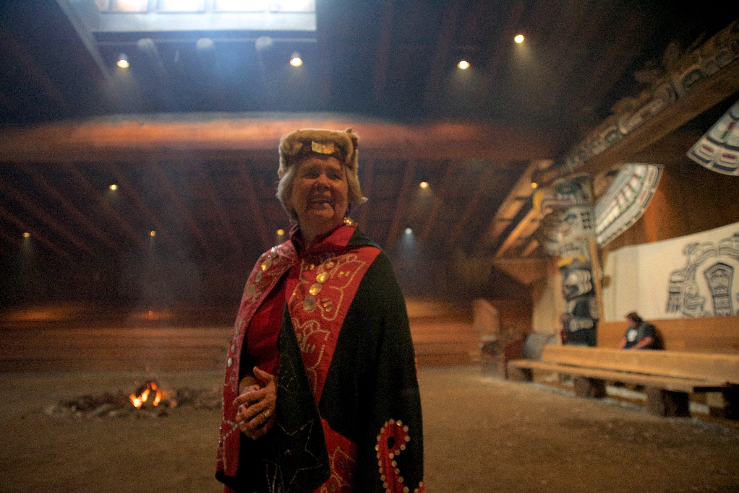 Namgis Tribe Family Member