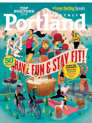 "PORTLAND MONTHLY  - ""The vibe is pure Mad Men."""