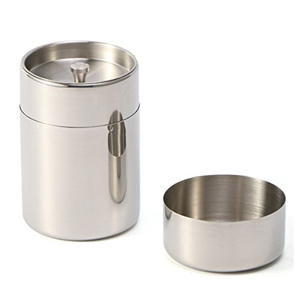 IKDMJ Stainless Steel Canister Set with Air Tight Lids for Tea and Dry Goods