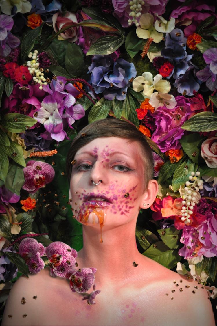 """Pollination,"" 2016. Photograph and digital manipulation."