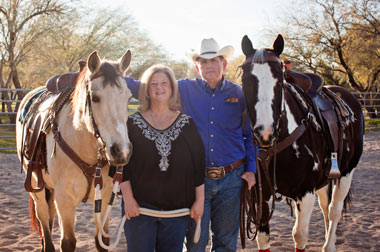 Drs. Allan and Jane Hamilton bring their renowned talents as neurosurgeon, psychologist, and superior horse trainers