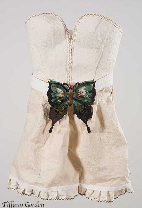 Butterfly Belt Dress