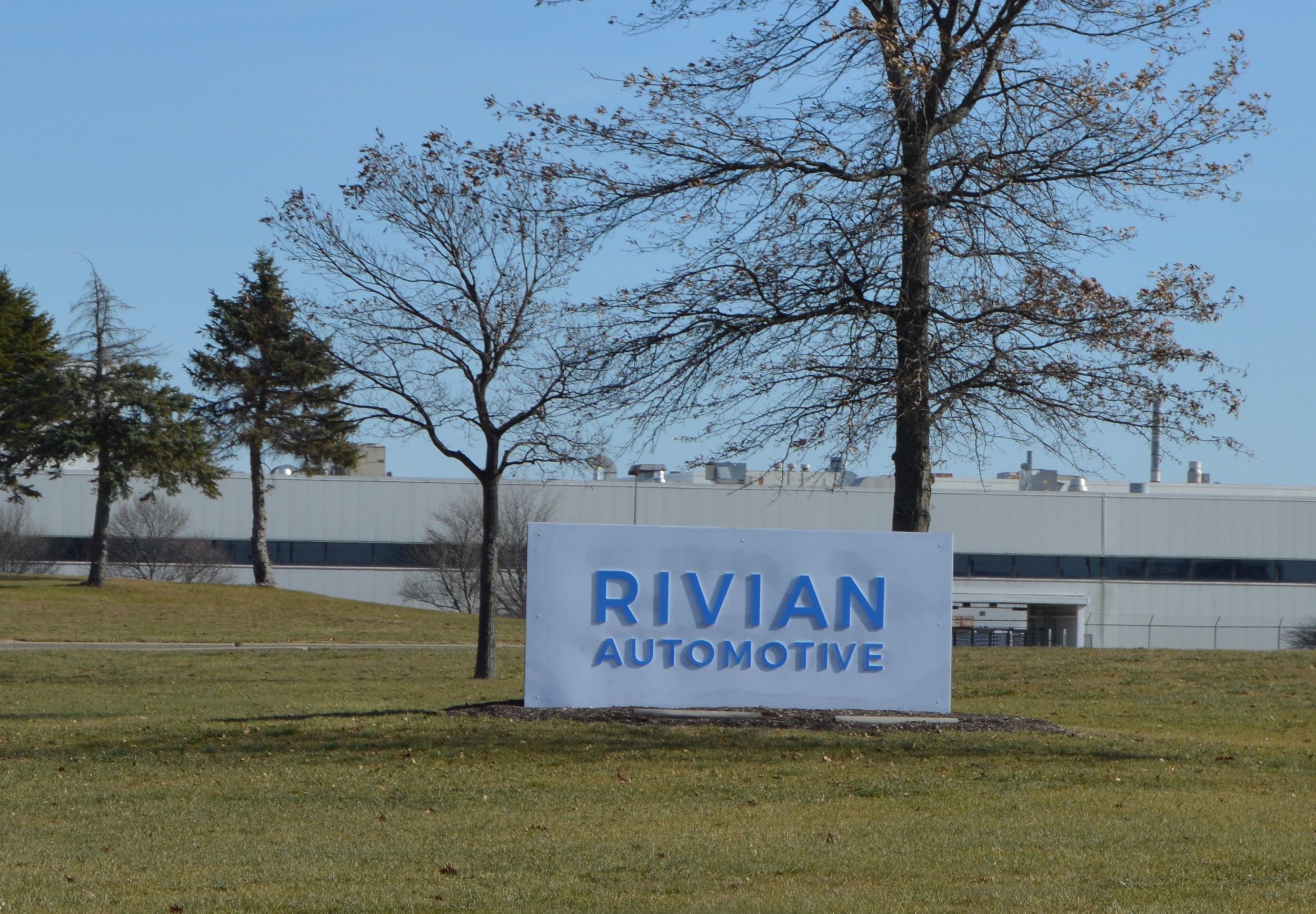 While the Rivian plant is relatively quiet, the company has big plans to bring it back to its glory days. (Christian Prenzler for AdaptBN)