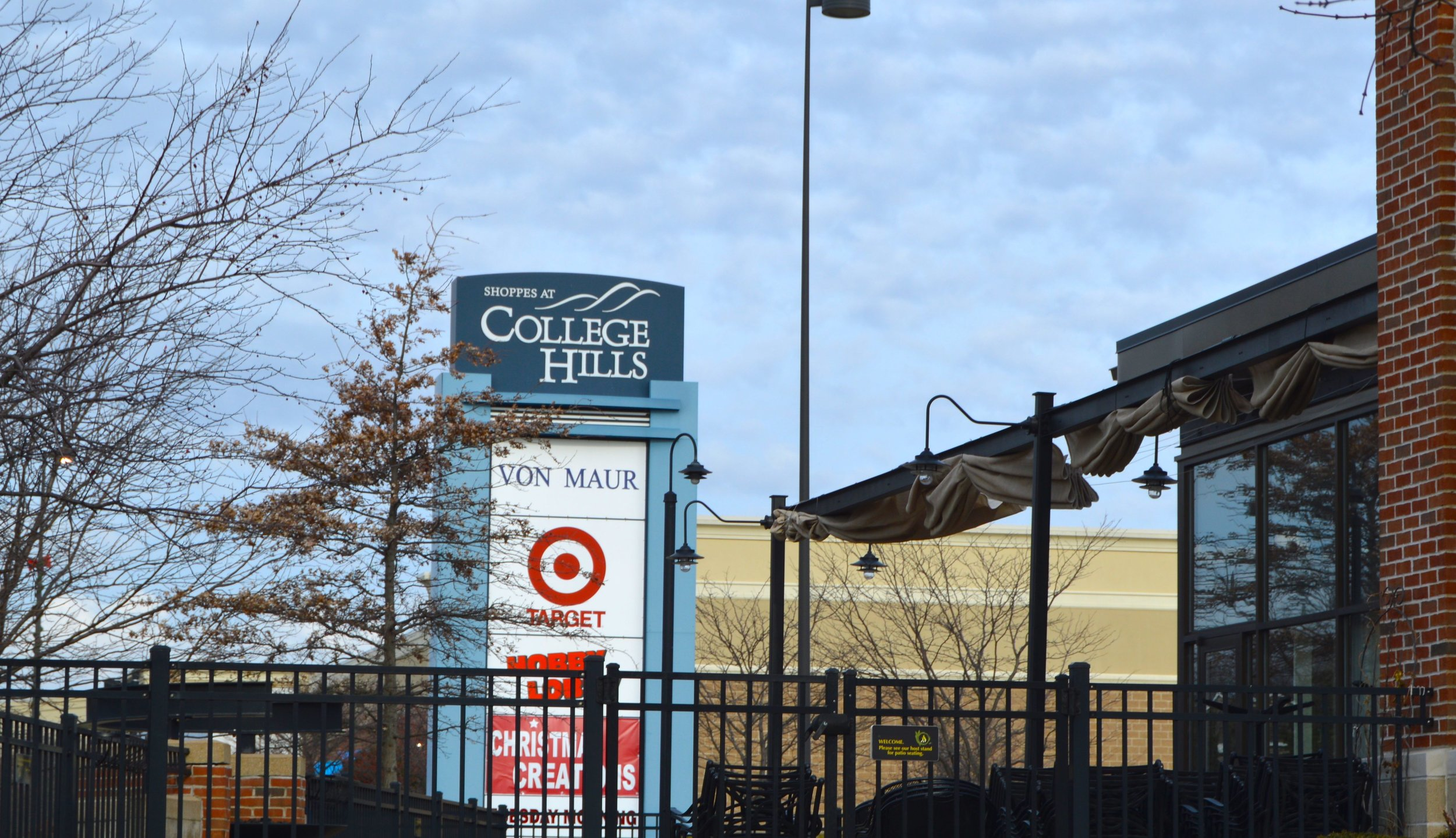The Shoppes at College Hills was acquired in January 2017 -