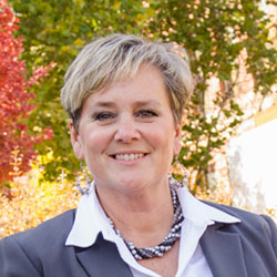 Lora Wey, Executive Director of Annual giving at ISU