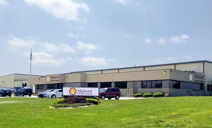 Midwest Food Bank, Bloomington Division at 2031 Warehouse Road in Normal. (Credit: Midwest Food Bank)