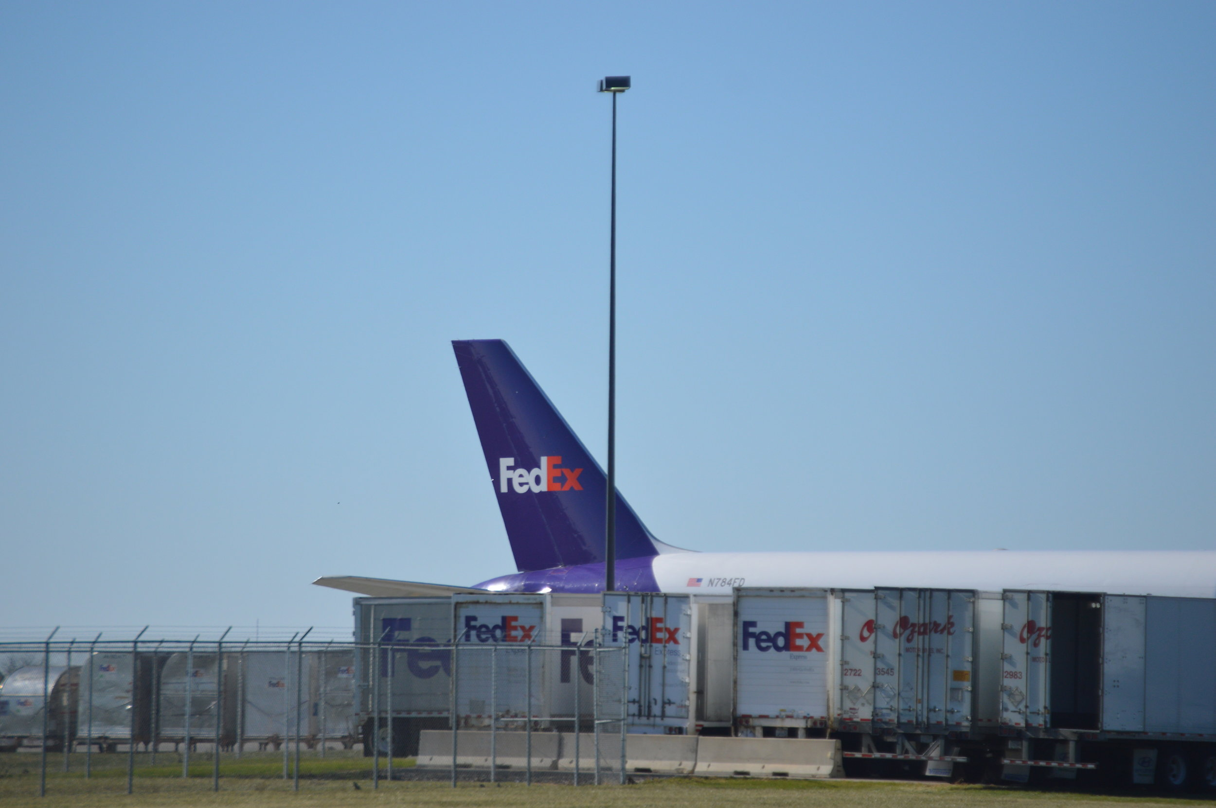 FedEx increased operations at the airport in 2017 -