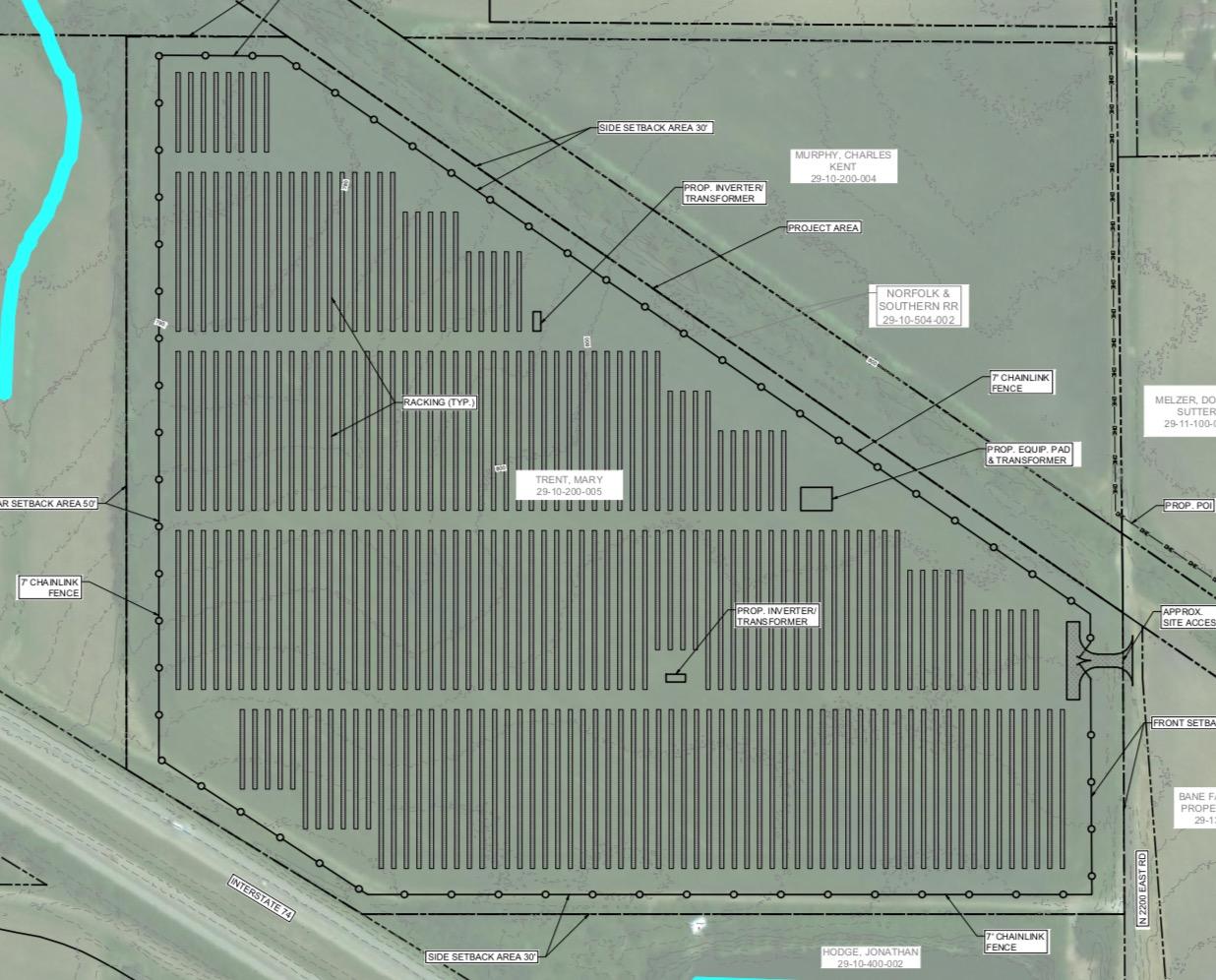 The Moraine site 6450 County Rd 2200 E, Downs