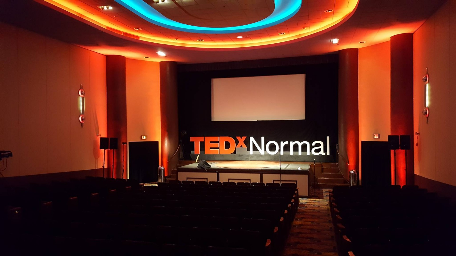 The last TEDx event in Bloomington -Normal was at the Normal Theater in October 2016. (Photo Credit: State Farm)