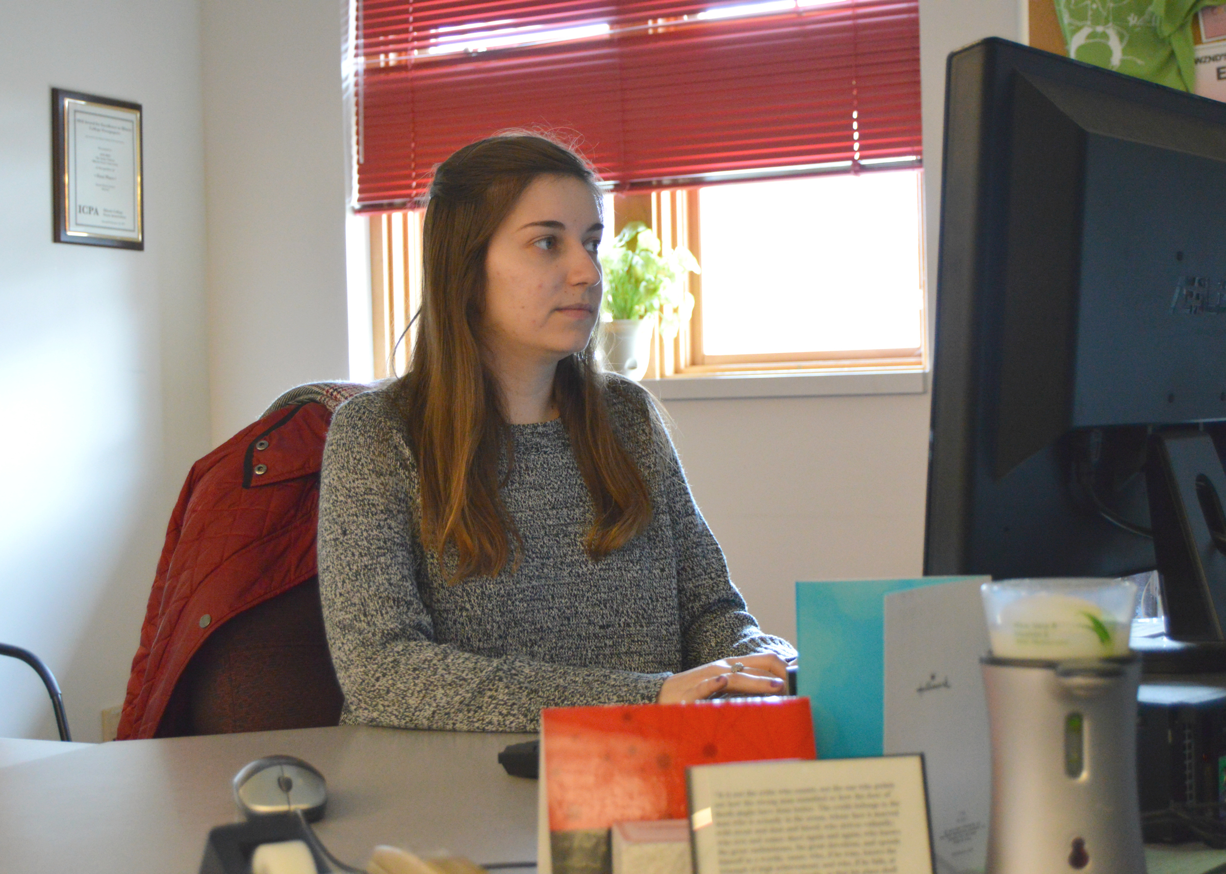 Ema Sasic took over as Editor-in-Chief of The Vidette, Illinois State University's student newspaper, in August 2017. The senior journalism major is set to graduate in May.
