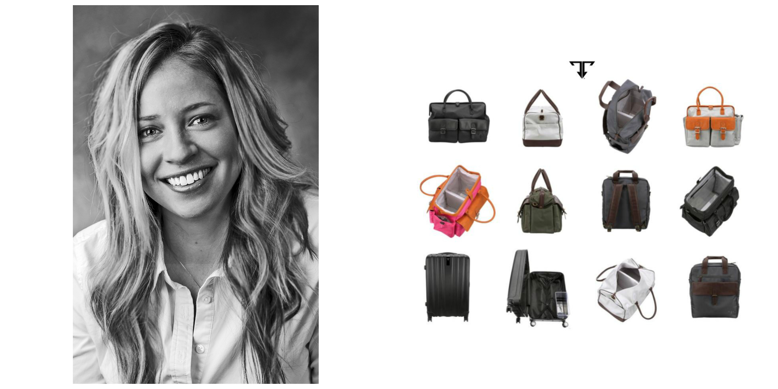 Kristin Rae of Bloomington created Inspire International in 2013 to sell her line of travel luggage exclusively through Amazon Marketplace. Rae plans to launch the redesigned Inspire Travel Luggage collection later this year on Kickstarter. (Image credit: Inspire International)