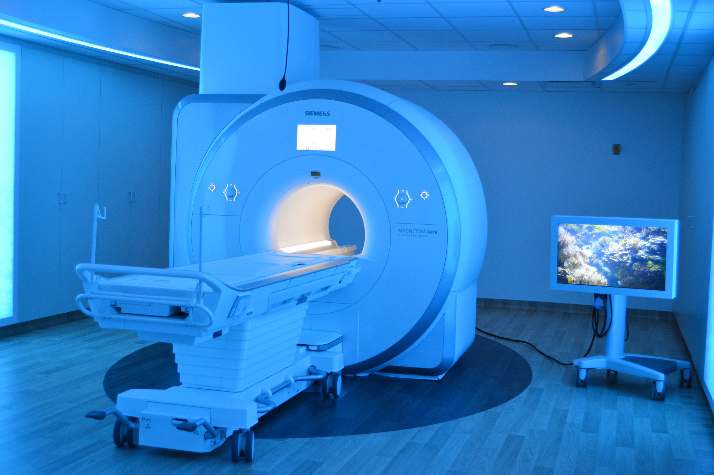 BroMenn is one of just five hospitals in the nation to install the new combination MRI and imaging suite technology that lets patients choose what they see and hear during the scan.