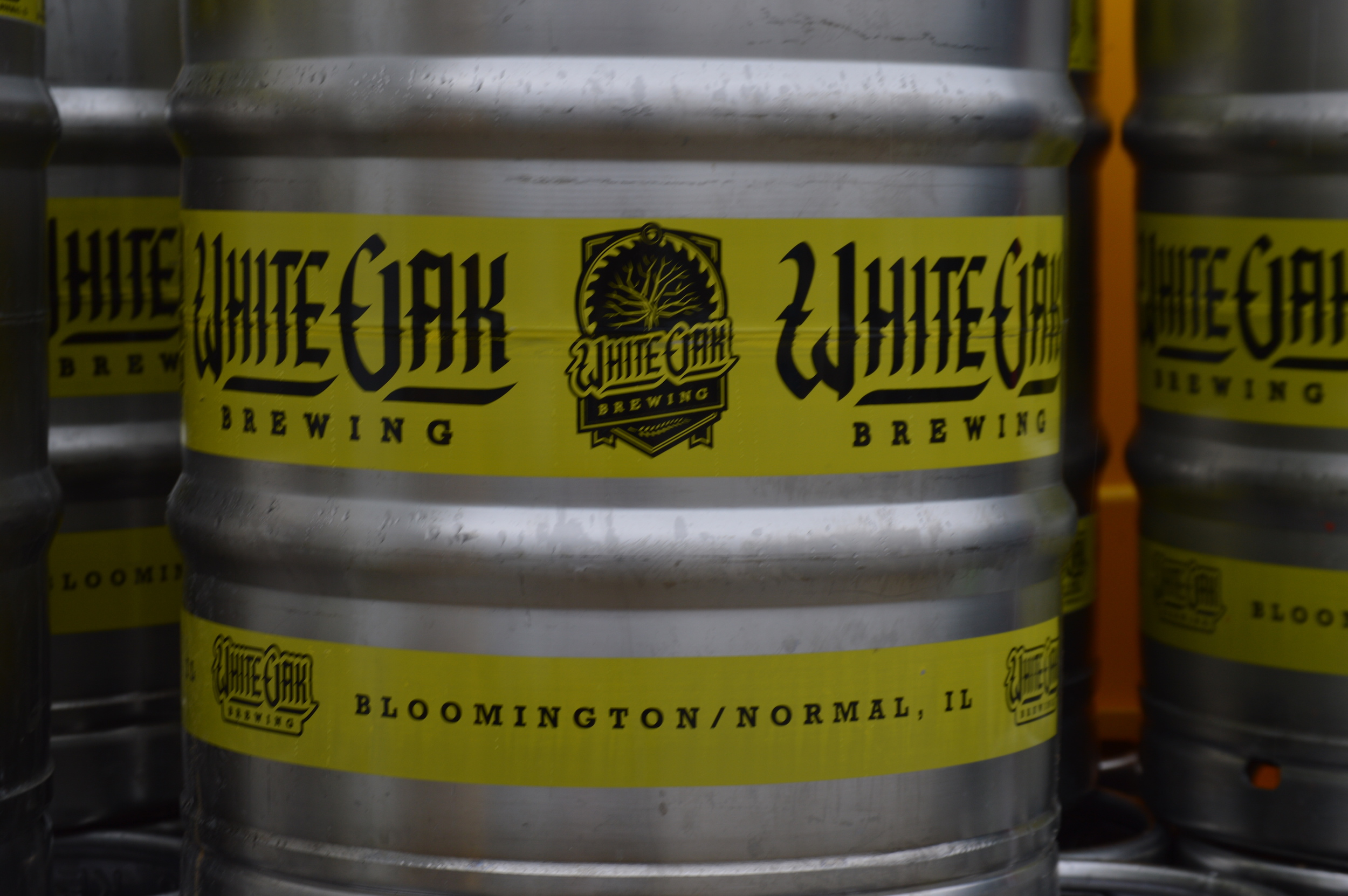 White Oak Brewing produces all of its beer in Normal, Illinois. They produced around 500 barrels of beer last year. (Image Credit: Matt Johnson)
