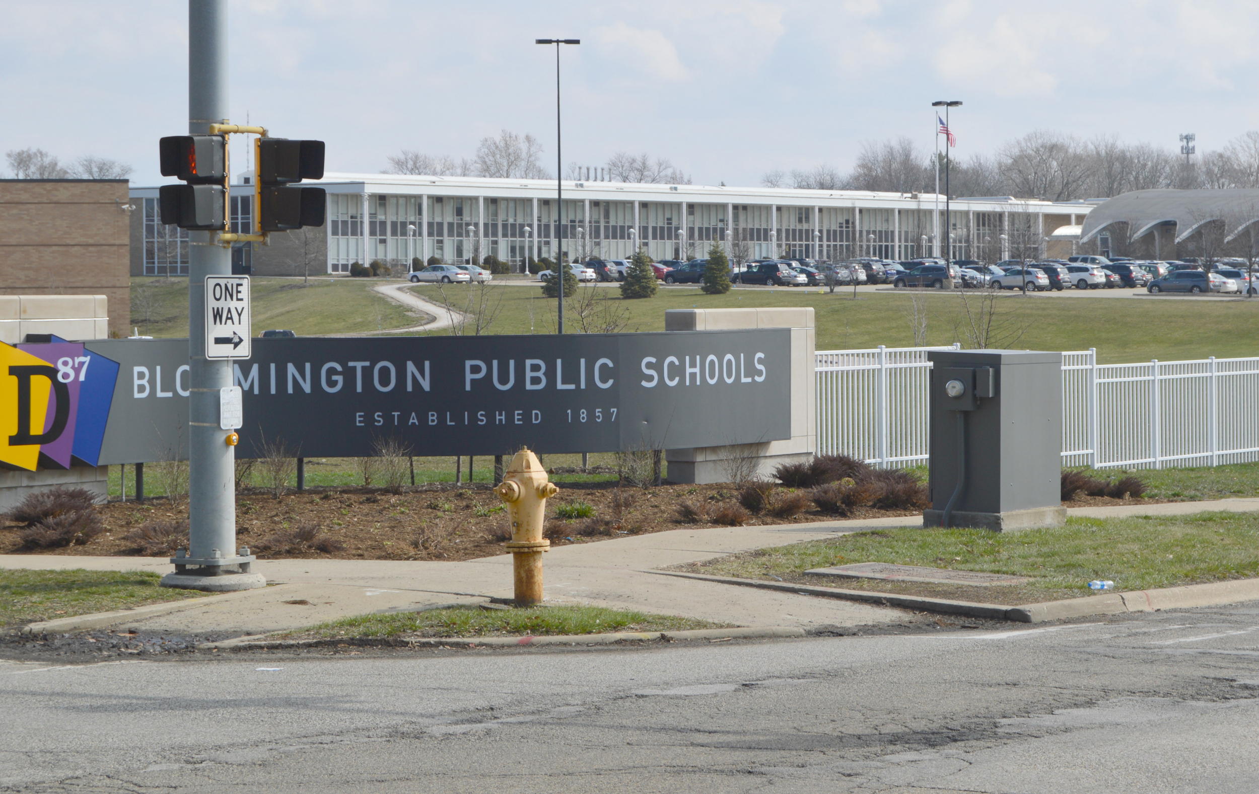 District 87 issued $8M in bonds to finance three major facilities projects at Bloomington High School. (Image credit: Breanna Grow)