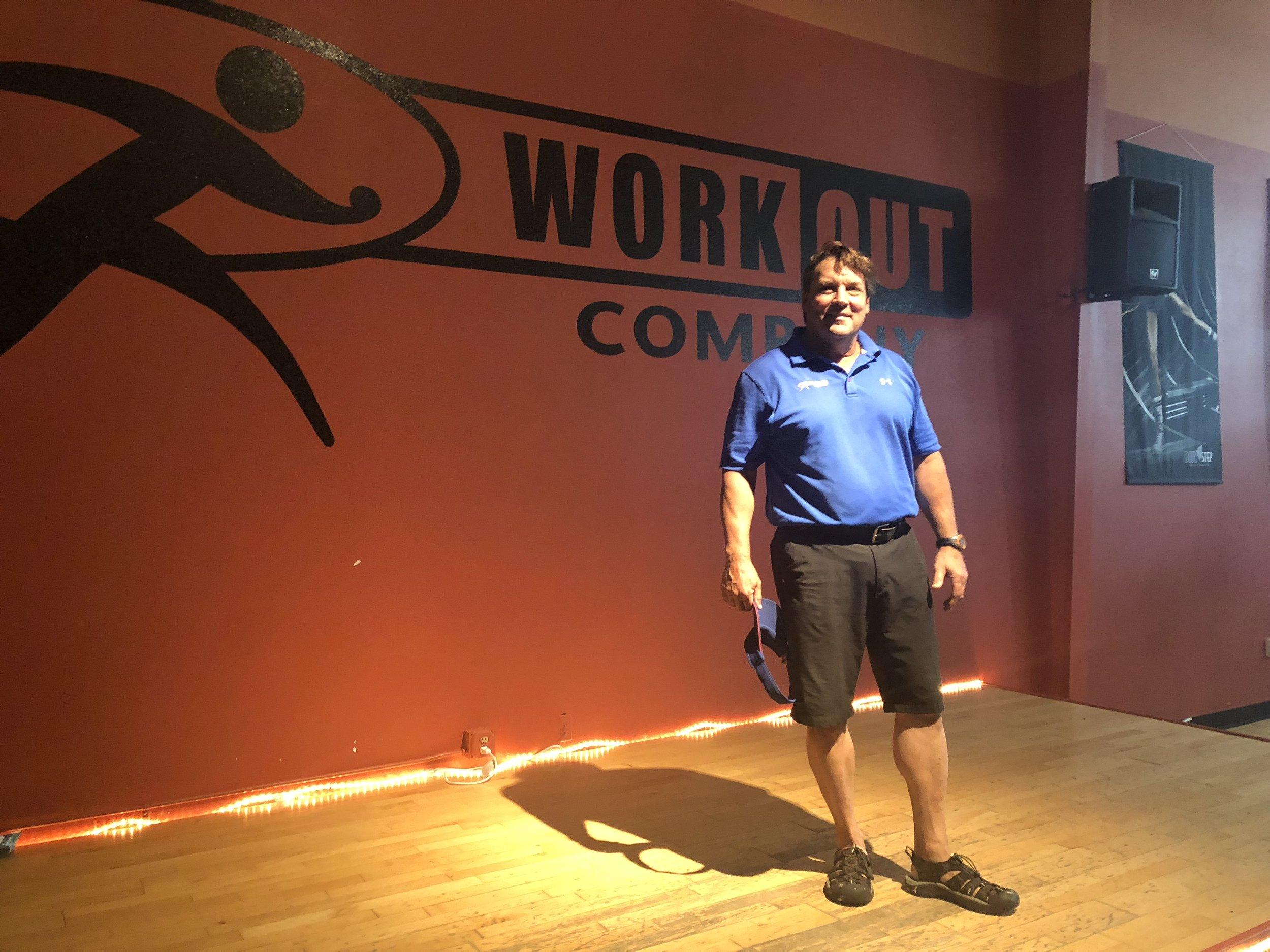 The Workout Company's Owner Carl Clover (Photo: Erik Prenzler/AdaptBN)