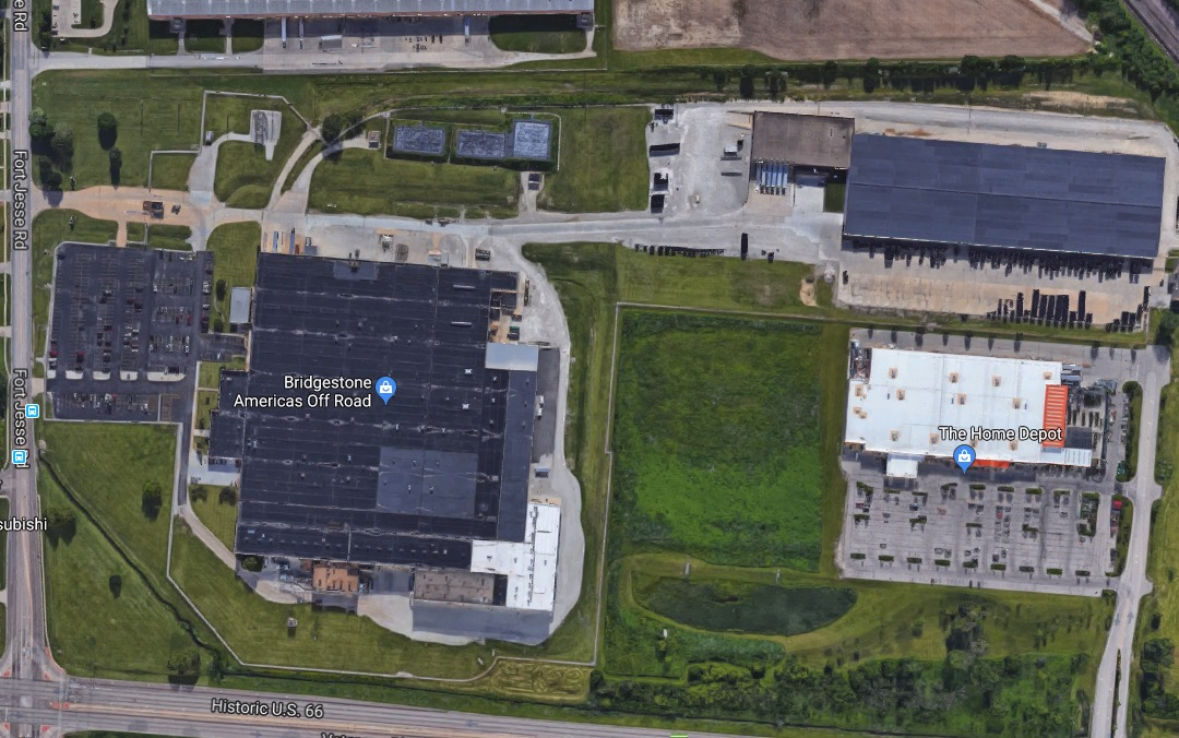 The Bridgestone Plant in Normal, IL (Photo: Google Maps)