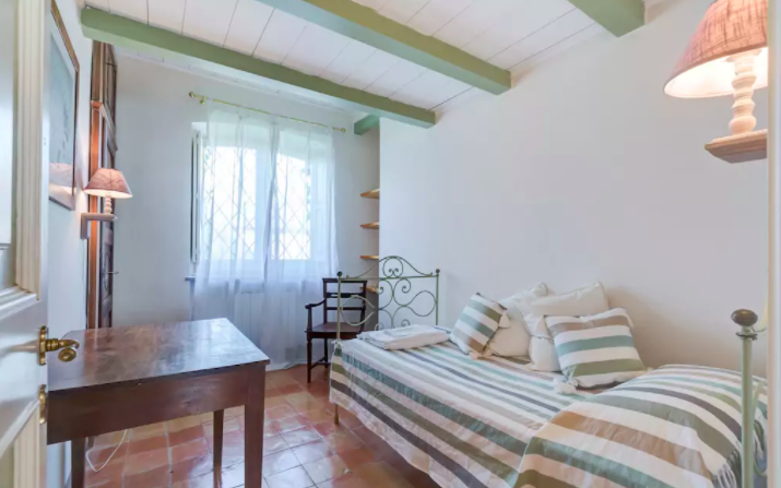 PACKAGE 3 - SHARED ROOM IN SMALL CHATEAU  Features: Shared Room, Shared Bath,Air Conditioning, Charming Suite, Twin Size Bed