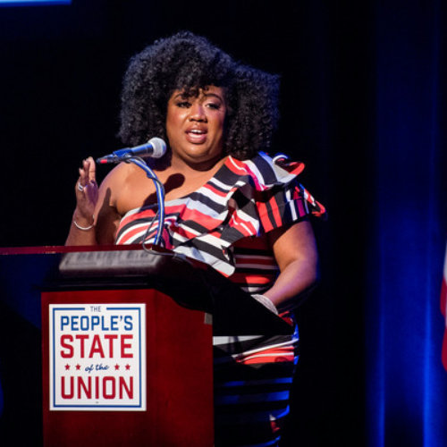 """Empowering communities of color with Woke Vote and DeJuana Thompson - """"DeJuana talks about how her community organizing experience shapes her work, her strategy for winning elections in 2018, and how to make movement building work more sustainable."""""""