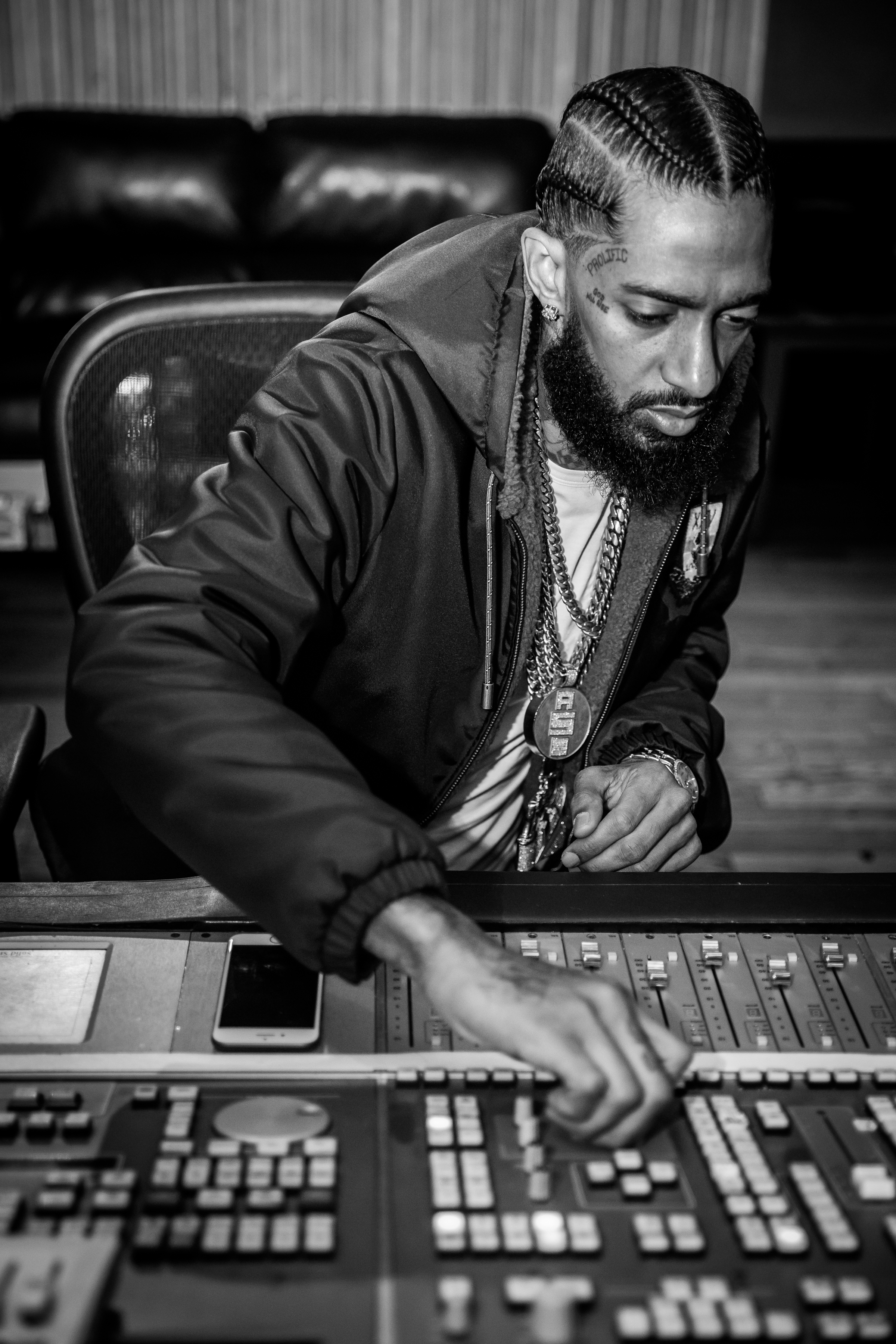 Nipsey Hussle by Miguel Crespo