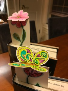 3D Zentangle® Bookmarks September Class