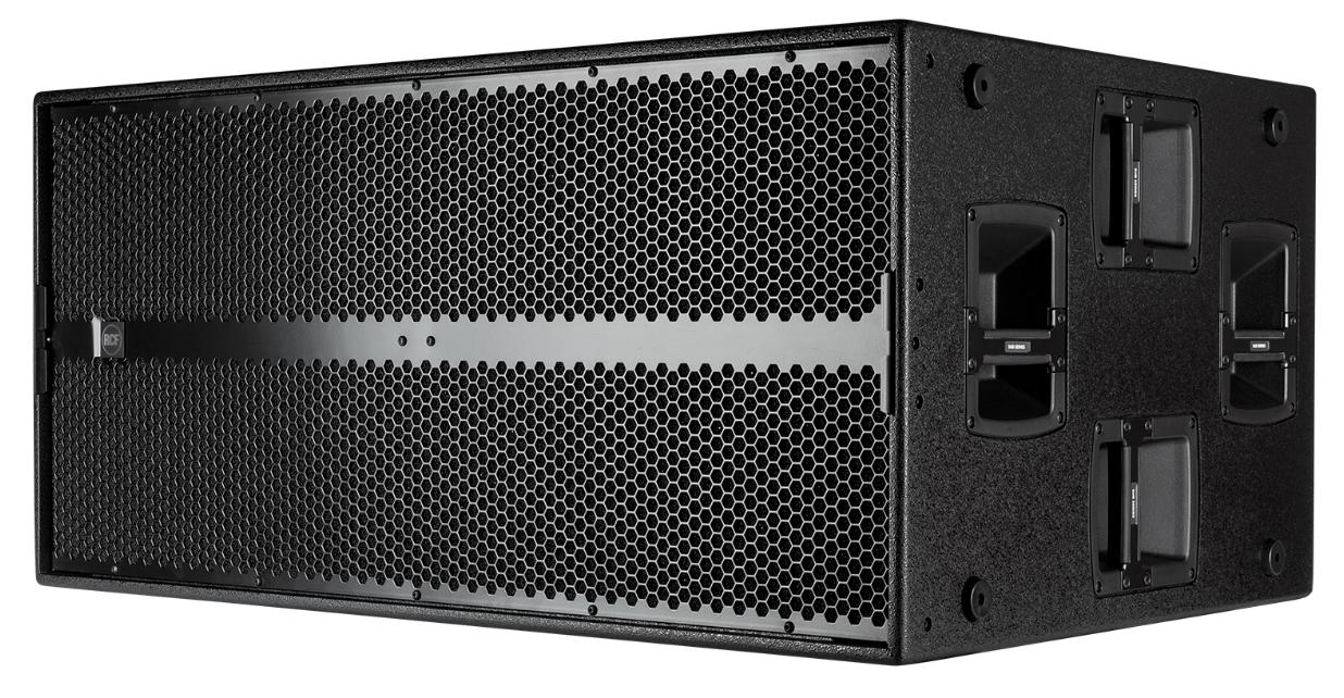 RCF SUB 9006-AS - 7200 WATT PEAK POWER - 3600 WATT RMS2 X 18